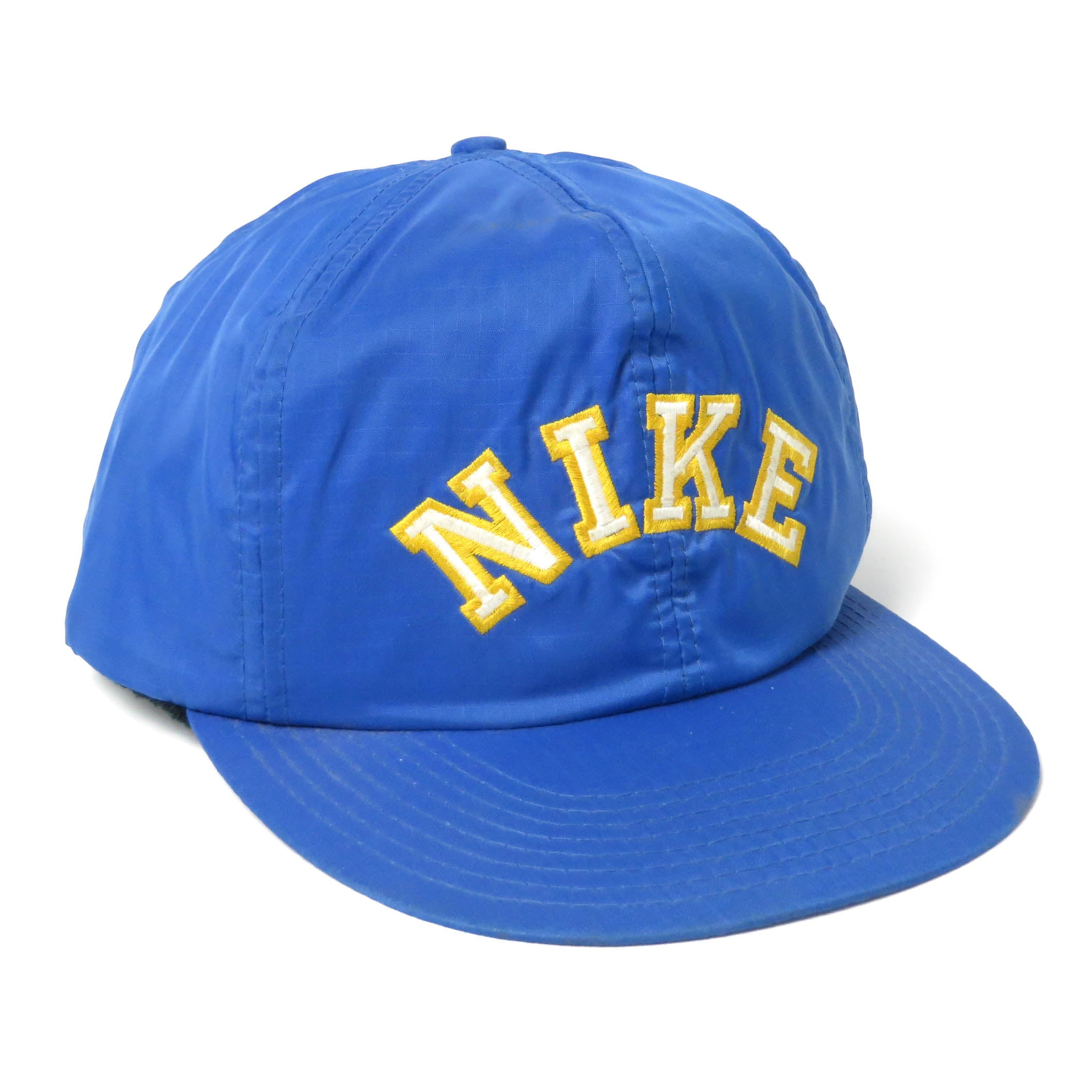 Vintage Nike Spell Out Nylon Snapback Hat