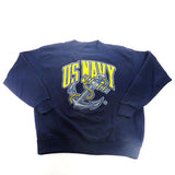 US Navy Crewneck Sweatshirt Sz XL
