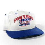 Vintage 1996 Detroit Pistons NBA Playoffs Snapback Hat