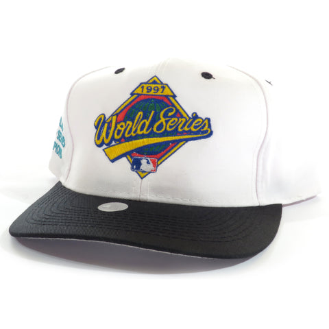MLB World Series 1997 Logo 7 Snapback Hat