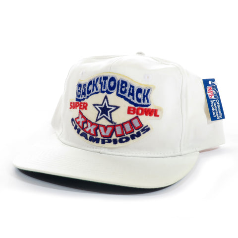 Back to Back Dallas Cowboys Super Bowl XXVIII Champions Snapback Hat