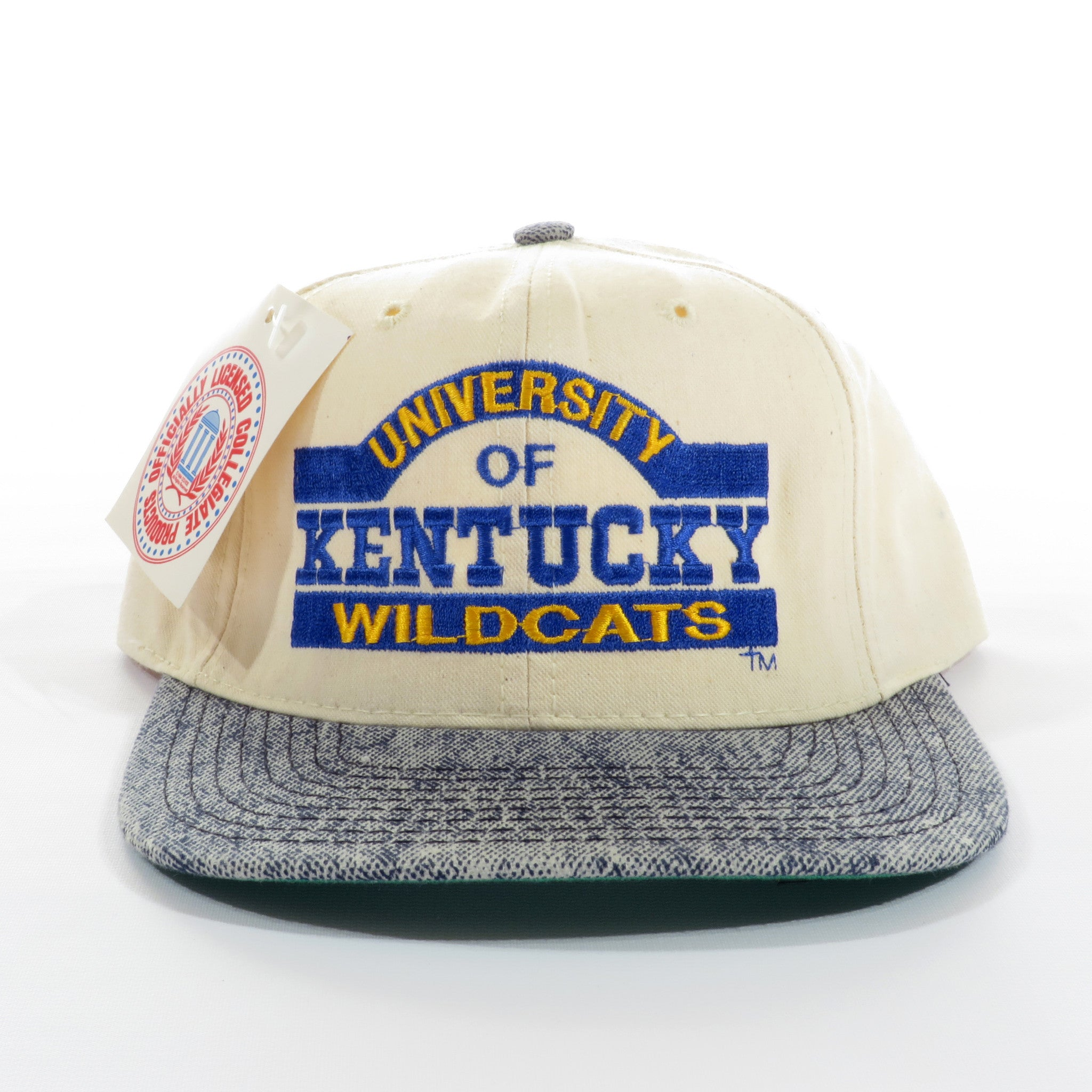 Univeristy of Kentucky UK Wildcats Denim Snapback Hat