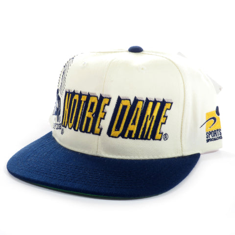 Notre Dame Fighting Irish Shadow Snapback Hat