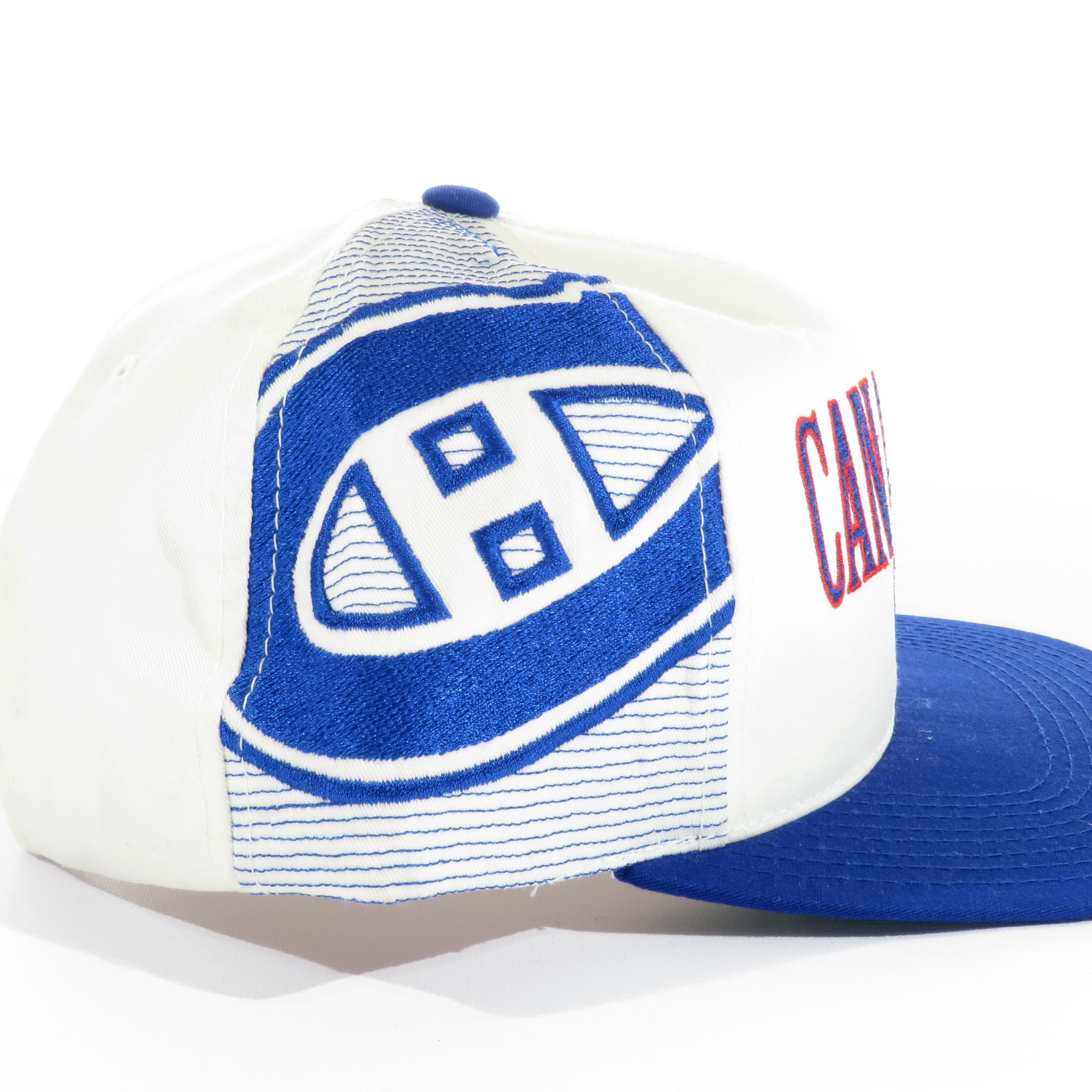 Montreal Canadiens Sports Specialties Laser Snapback Hat