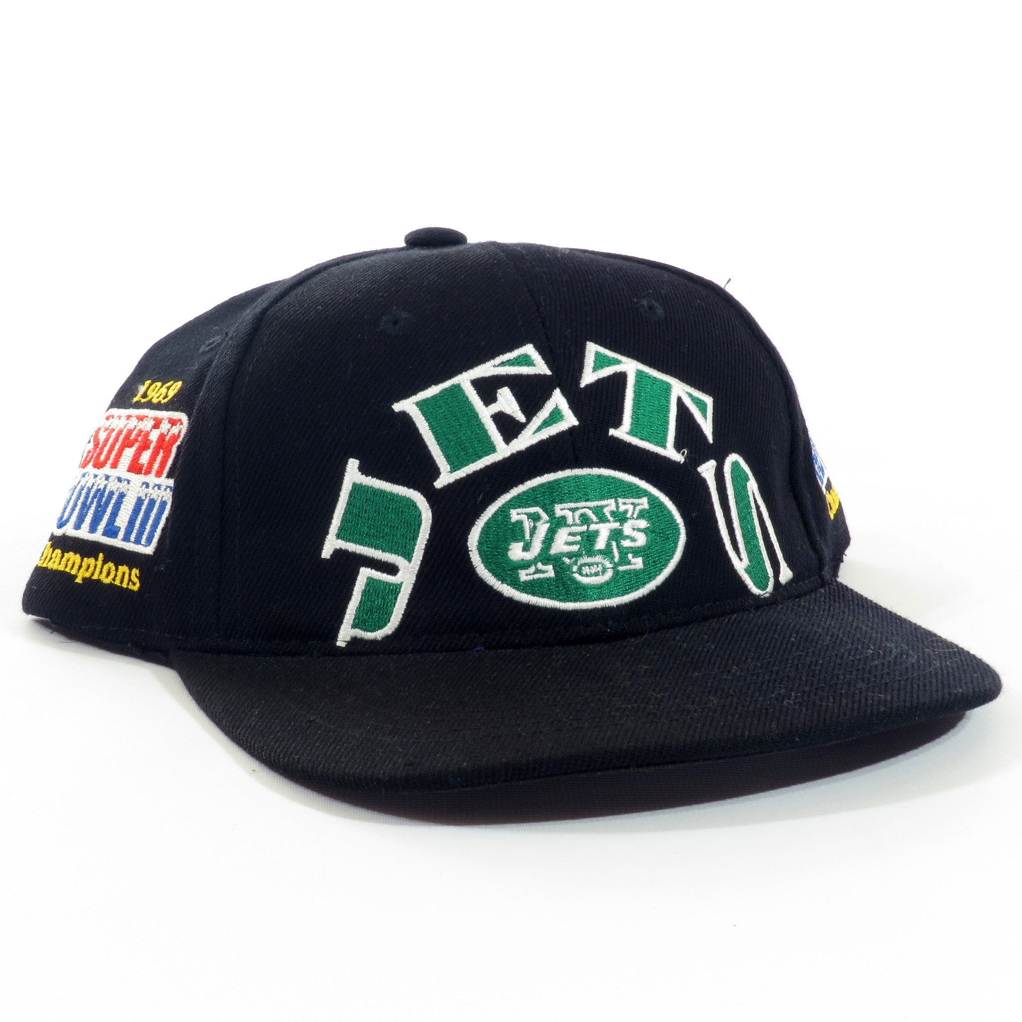 New York Jets Super Bowl Snapback Hat