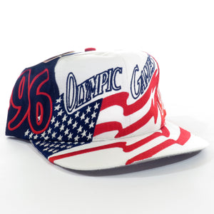 USA 1996 Olympic Games Logo 7 Snapback Hat