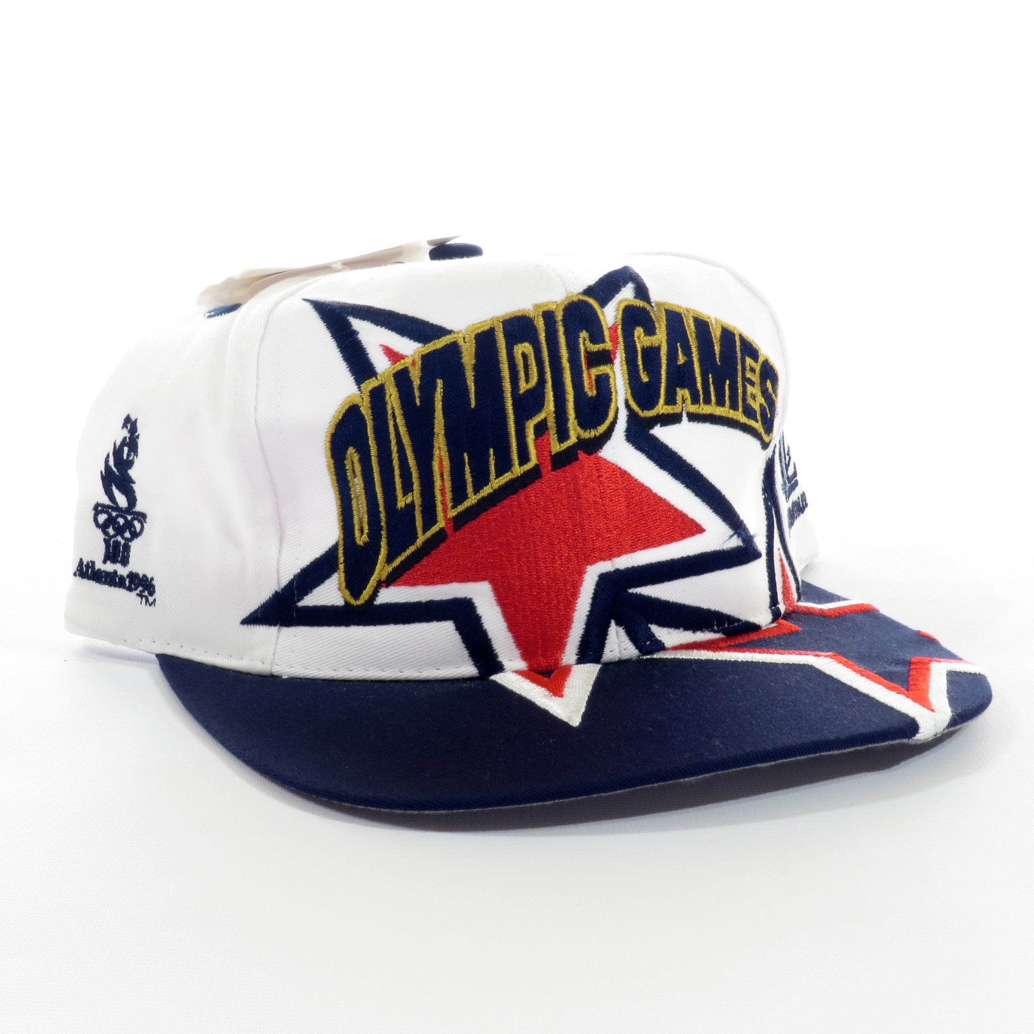 Atlanta 96 Olympic Games Logo Athletic Snapback Hat