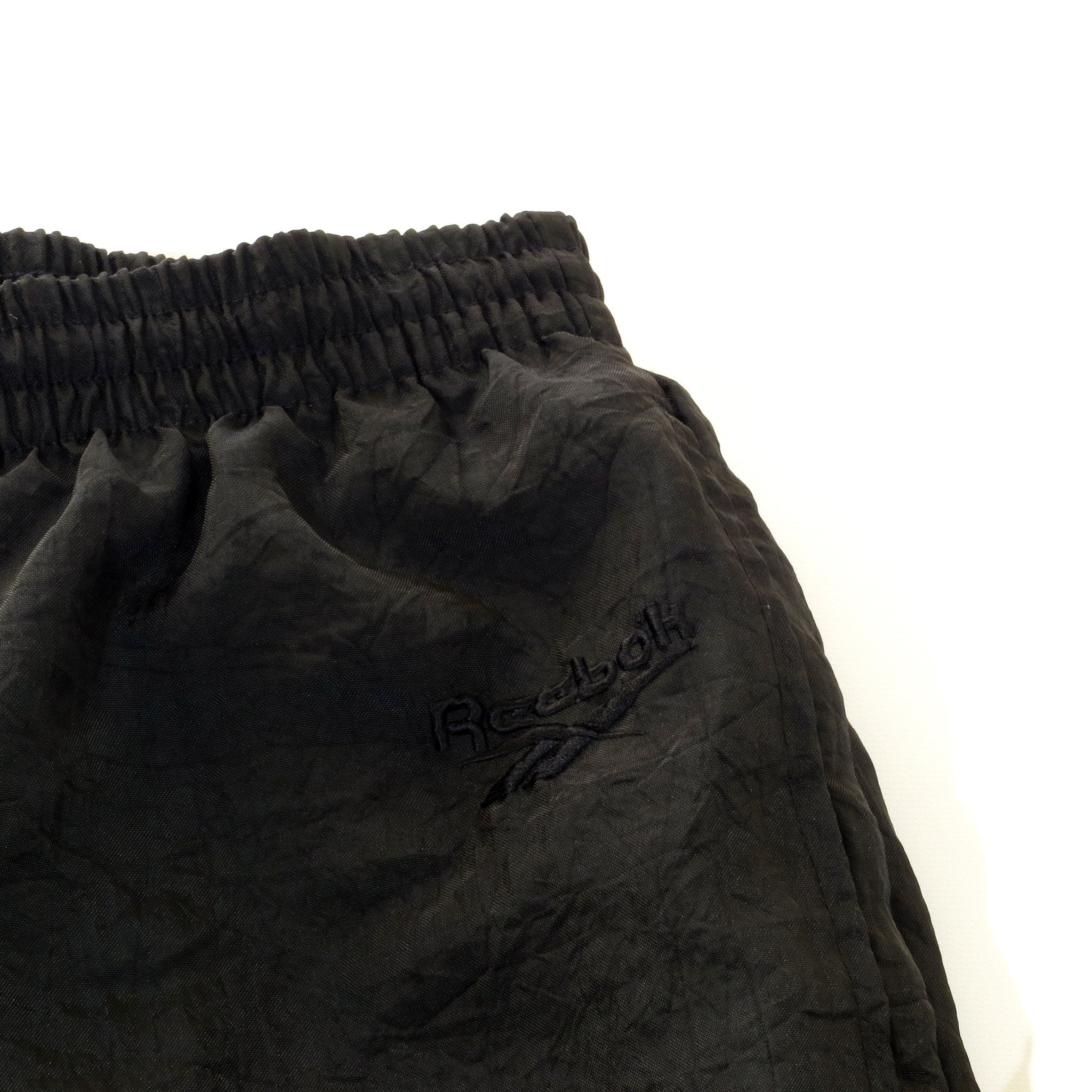 Black Reebok Wind Pants Sz M