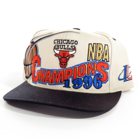 e82e90bf769 ... reduced vintage 1996 chicago bulls nba champions snapback hat 9bd87  47944