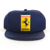 Ferrari Raw Denim Snapback Hat