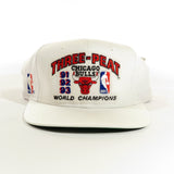 Chicago Bulls Three Peat World Champions Snapback Hat