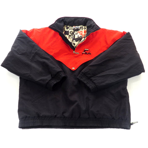 Fila Pull Over Winter Jacket Sz XL