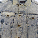 Calvin Klein Acid Wash Denim Jacket Sz M