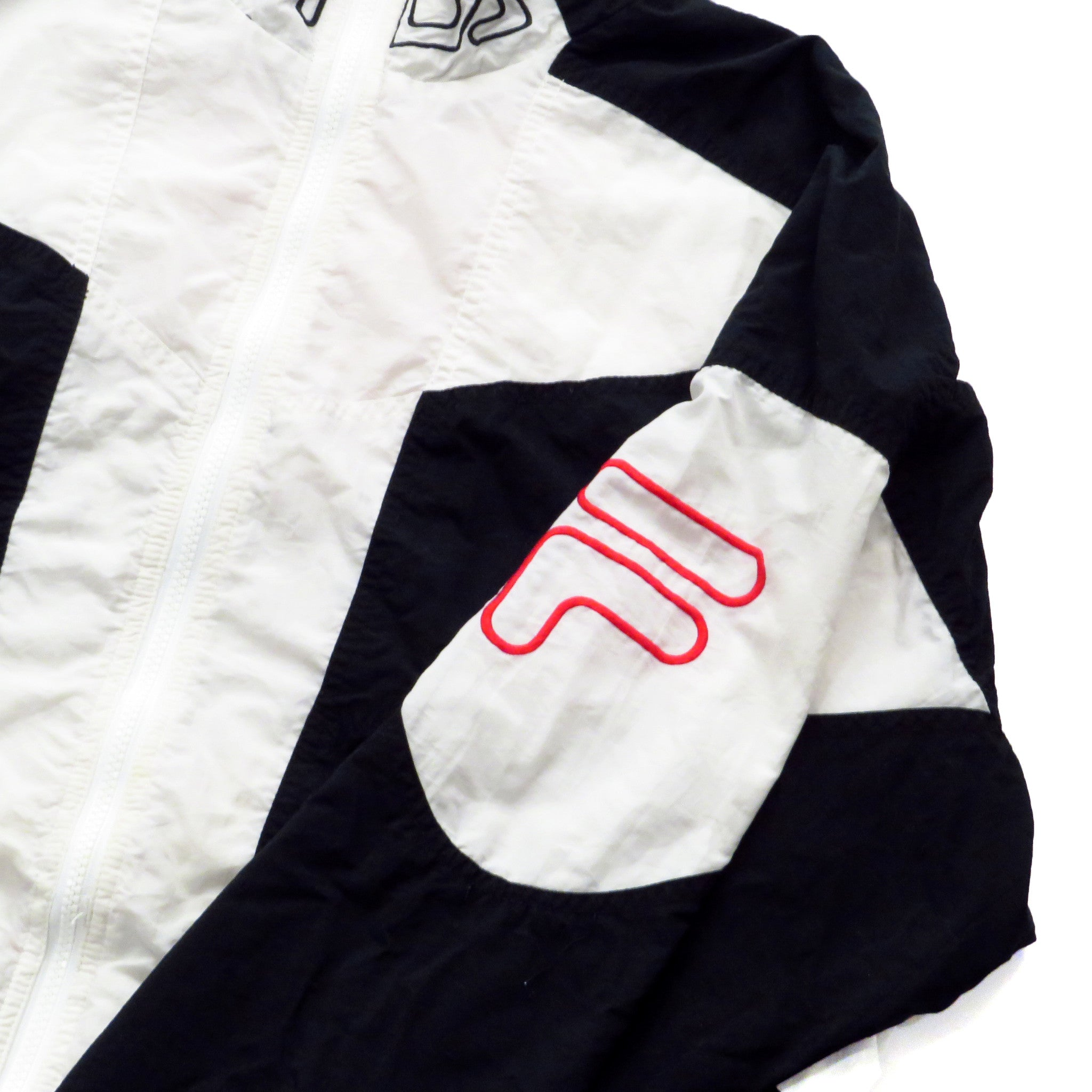 Fila Windbreaker Jacket Sz L