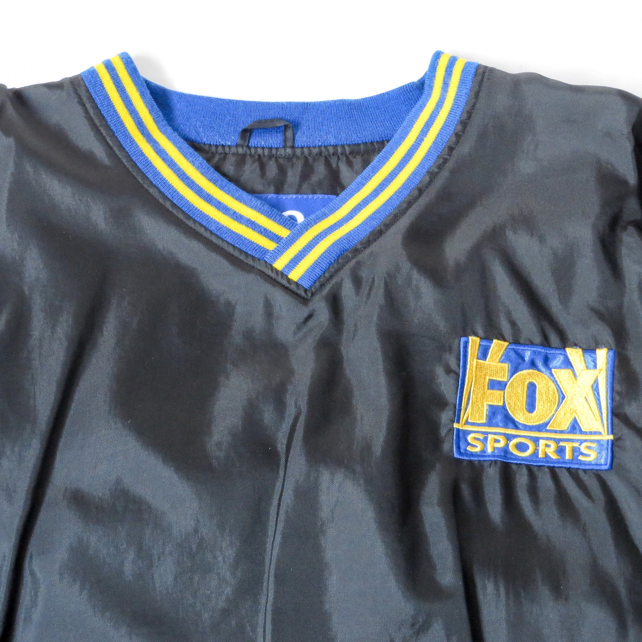 Vintage Fox Sports Pro Player Pullover Jacket Sz XL