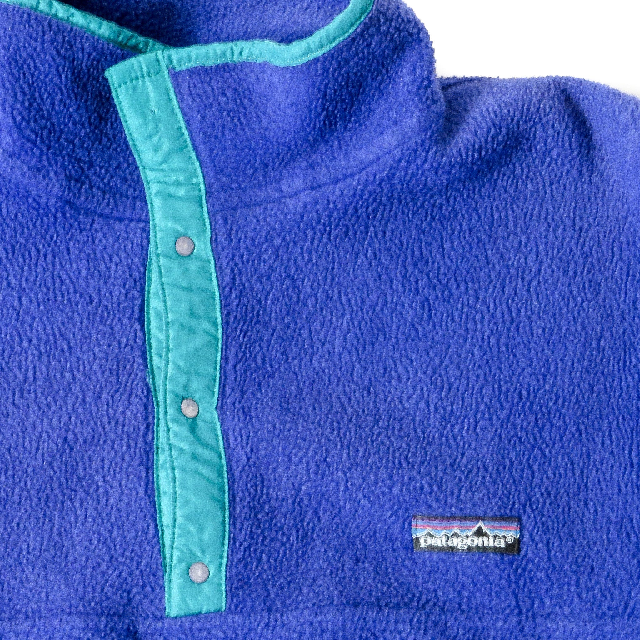 Vintage Patagonia Synchilla Snap-T Fleece Pullover Jacket Sz L