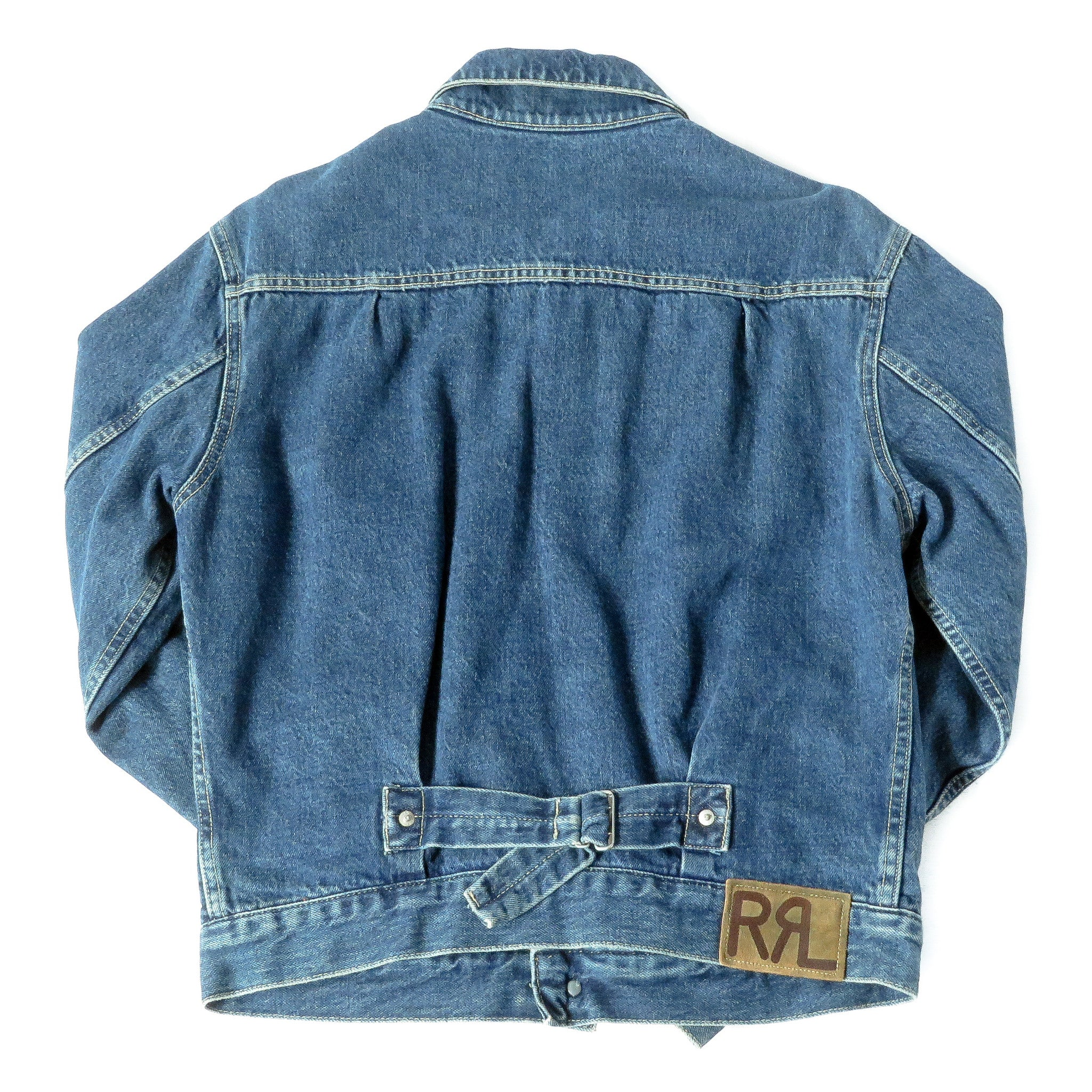 Vintage Double RL Ralph Lauren Denim Jacket Sz S
