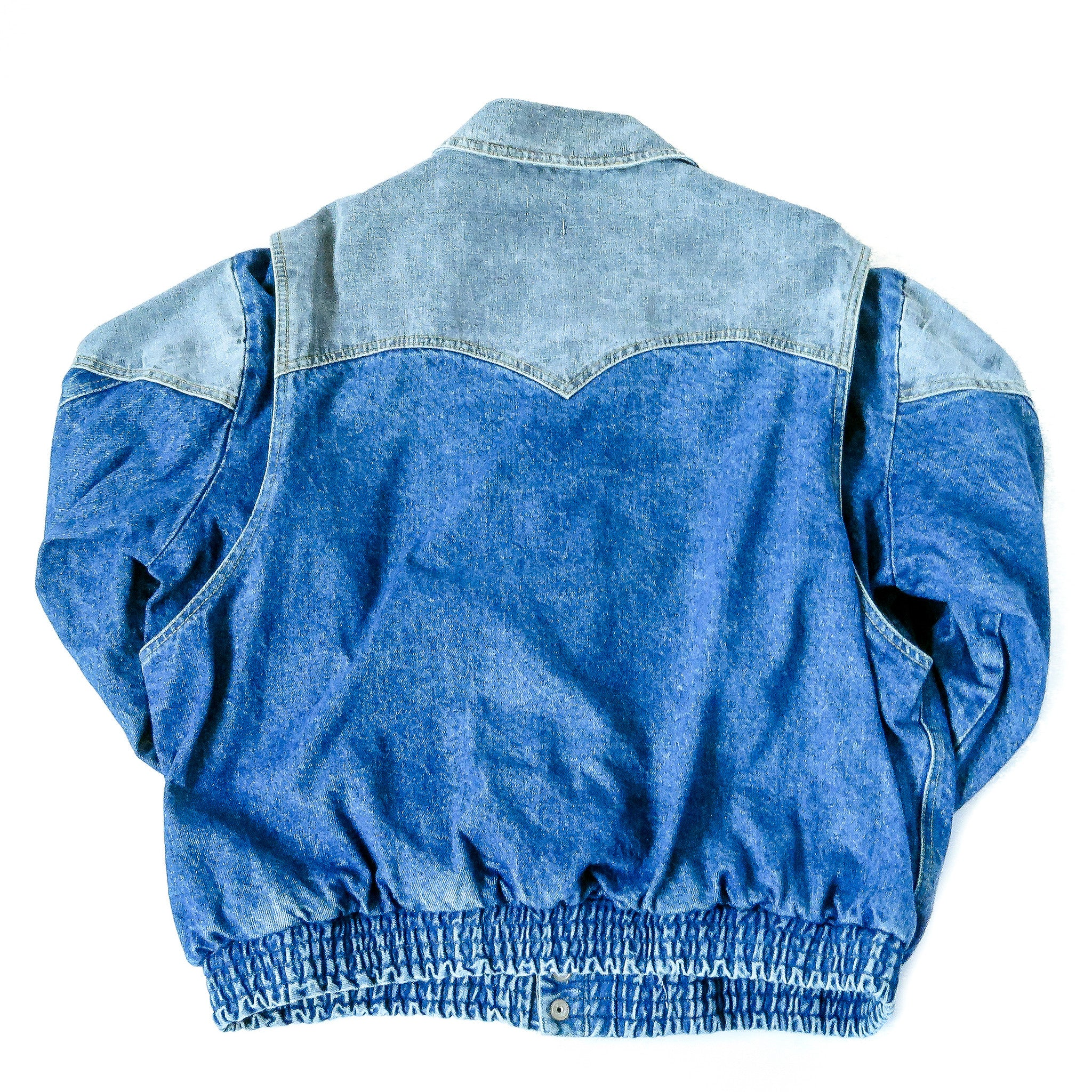 Vintage Guess Georges Marciano Denim Jacket Sz XL