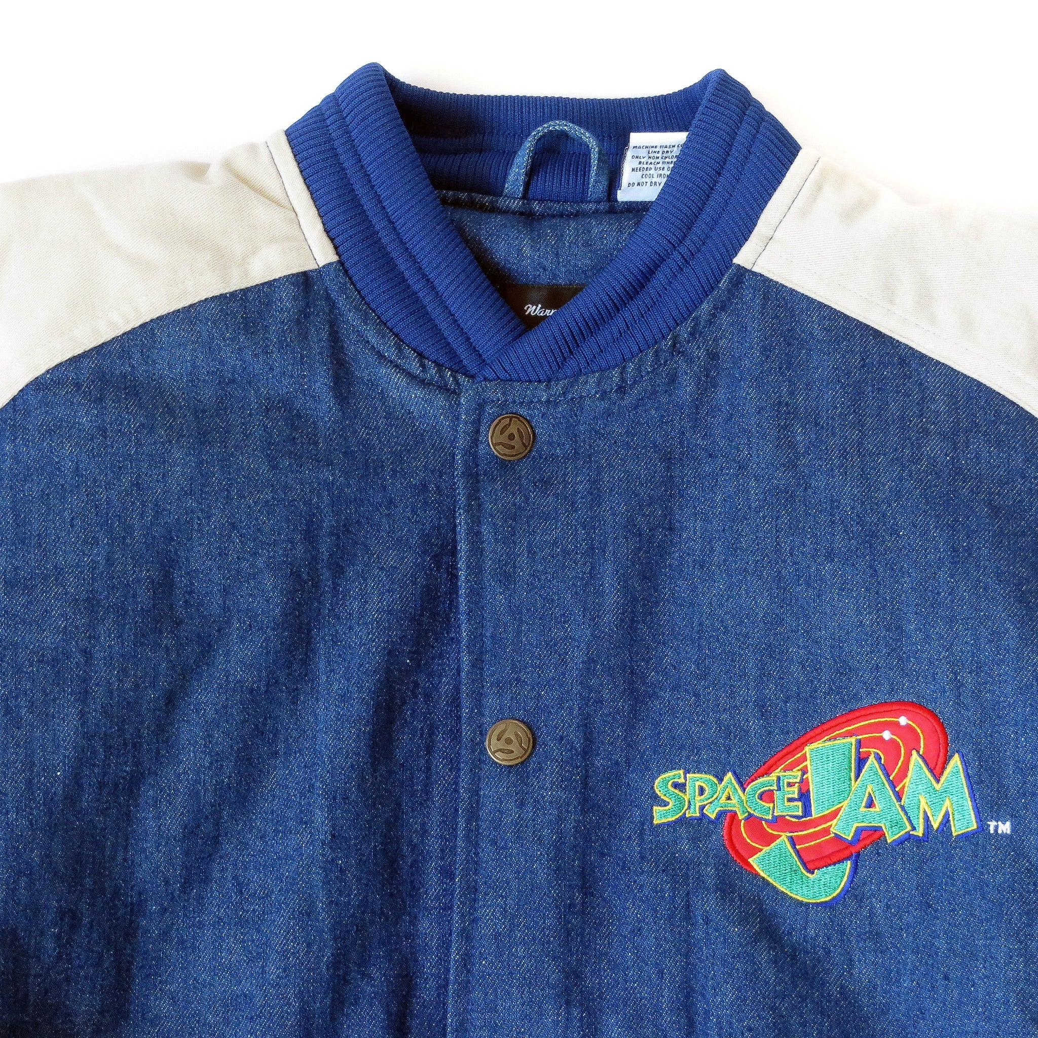 Vintage Deadstock Space Jam Jacket Sz XS (Youth XL)