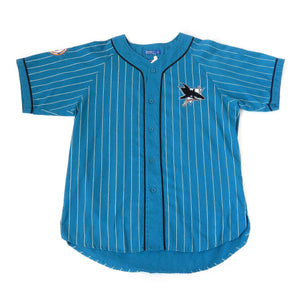 the latest fb84b 23b0b Vintage Starter San Jose Sharks Baseball Jersey Sz L