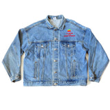 Vintage Apple Computer Denim Jacket Sz XL