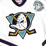 Vintage Mighty Ducks Hockey Jersey Sz 2XL