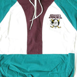 Vintage Mighty Ducks Quarterzip Pullover Shirt Sz S