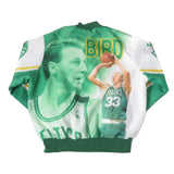 Vintage Larry Bird Celtics Chalk Line Jacket Sz L