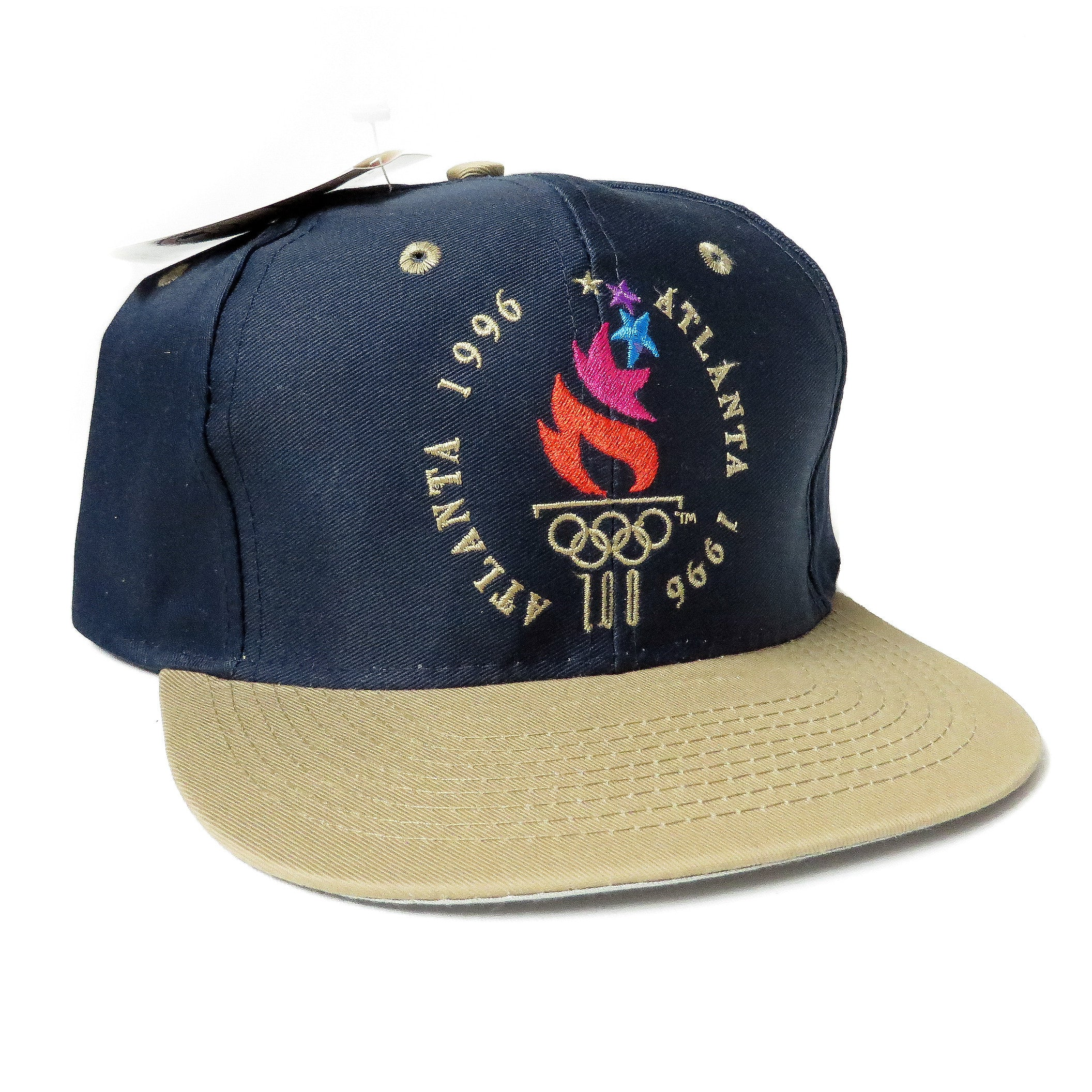 Vintage Atlanta 1996 Summer Games Snapback Hat