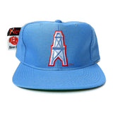 Vintage Houston Oilers New Era Snapback Hat