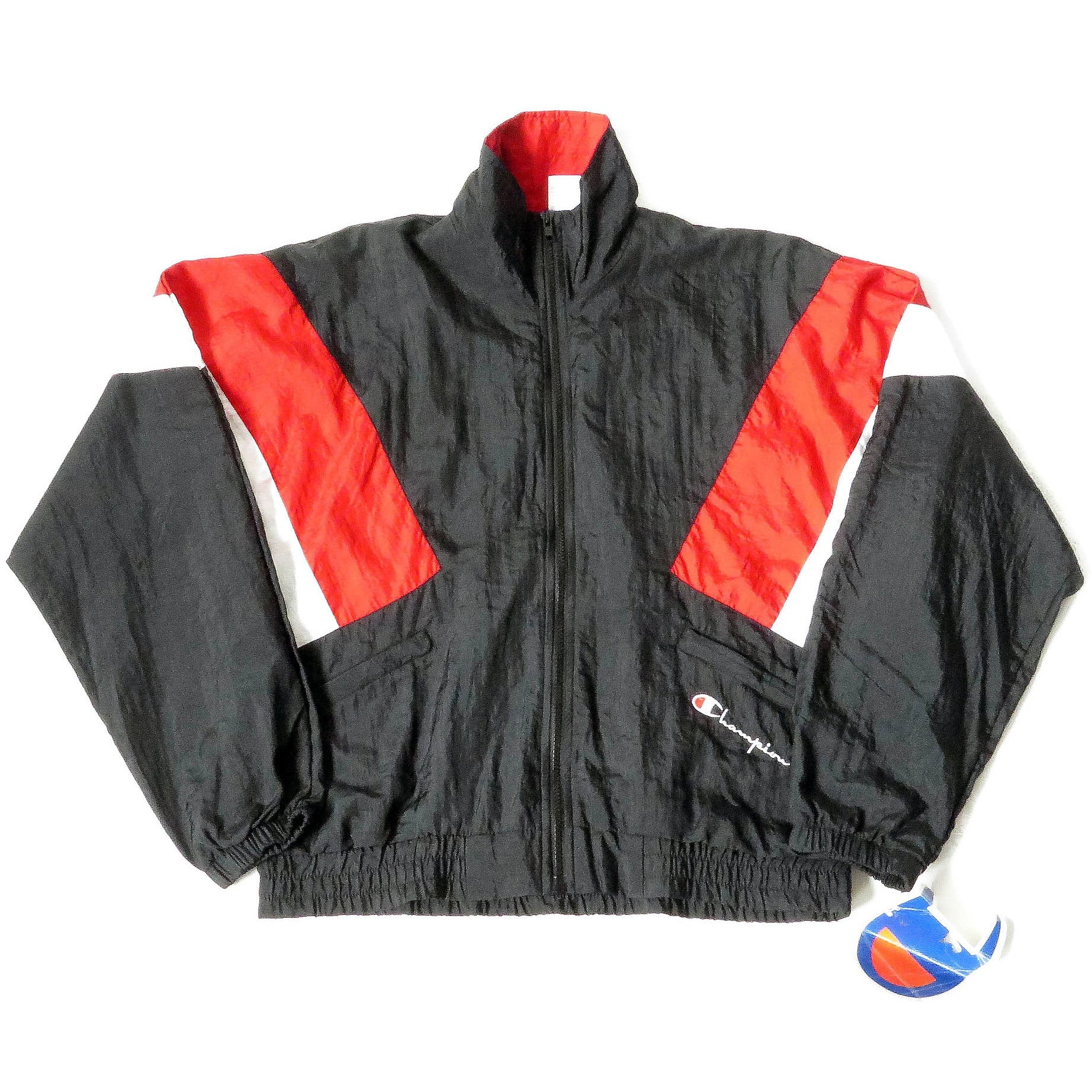 Vintage Champion Windbreaker Jacket Sz S