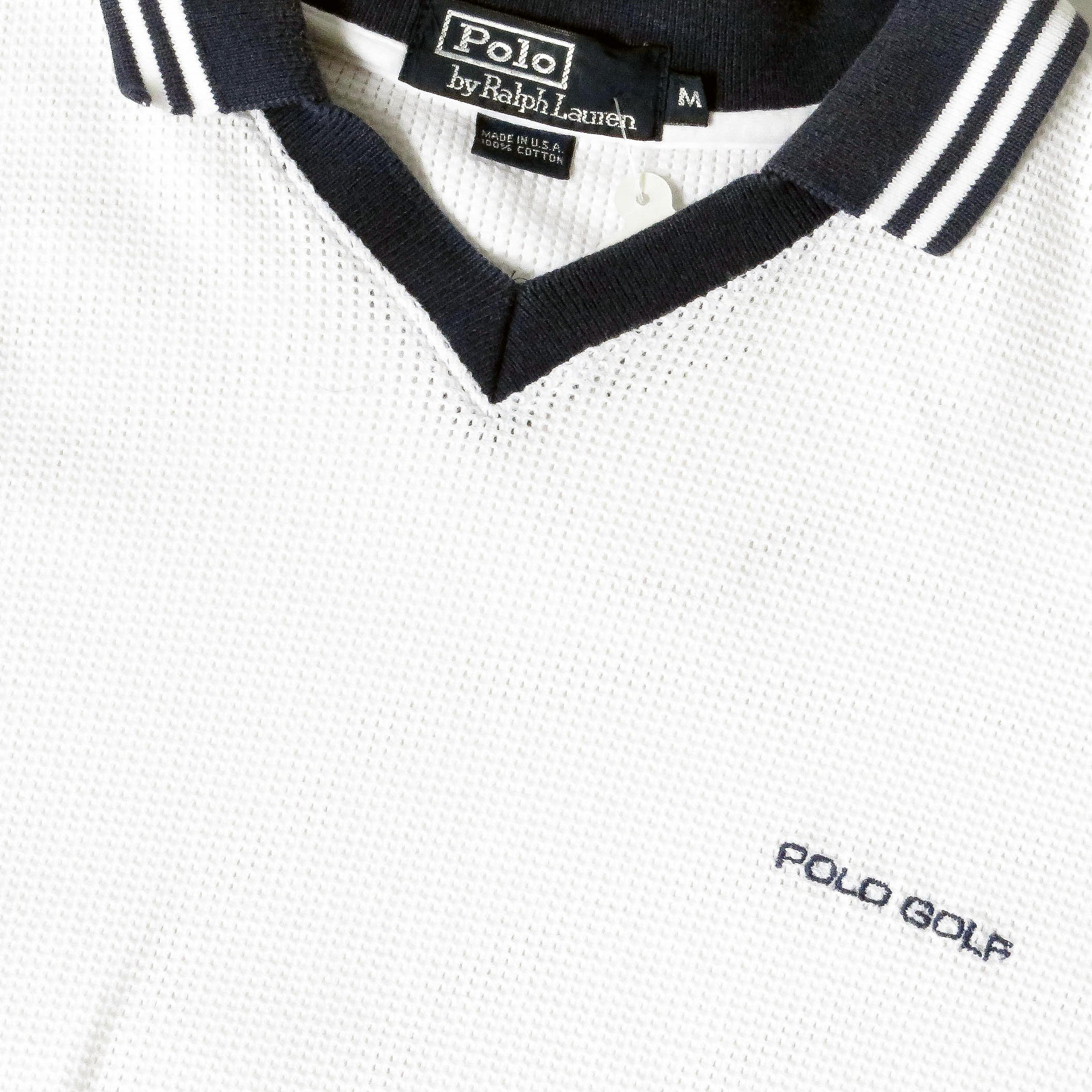 Vintage Ralph Lauren Polo Golf Shirt Sz M