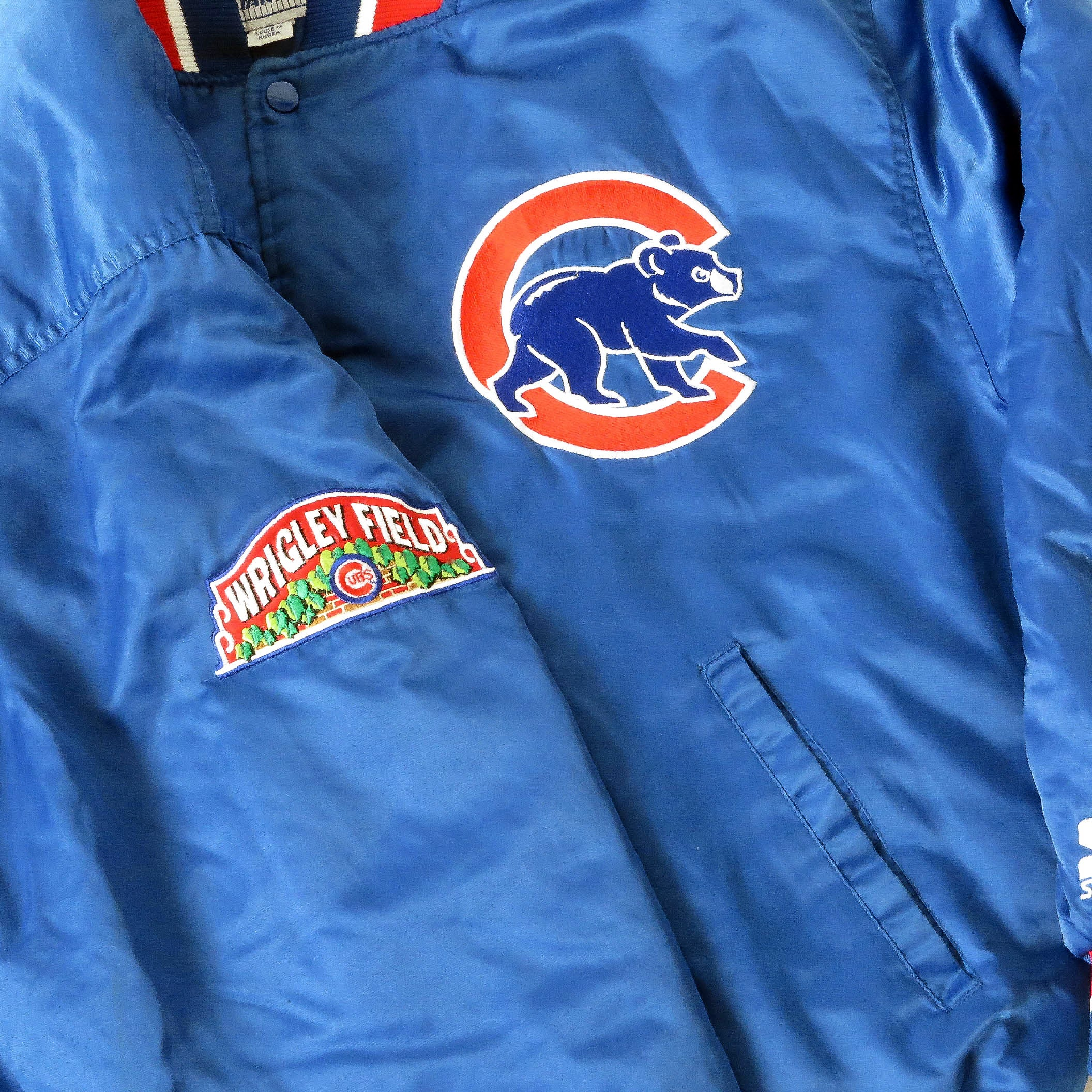 Vintage Chicago Cubs Starter Jacket Sz L