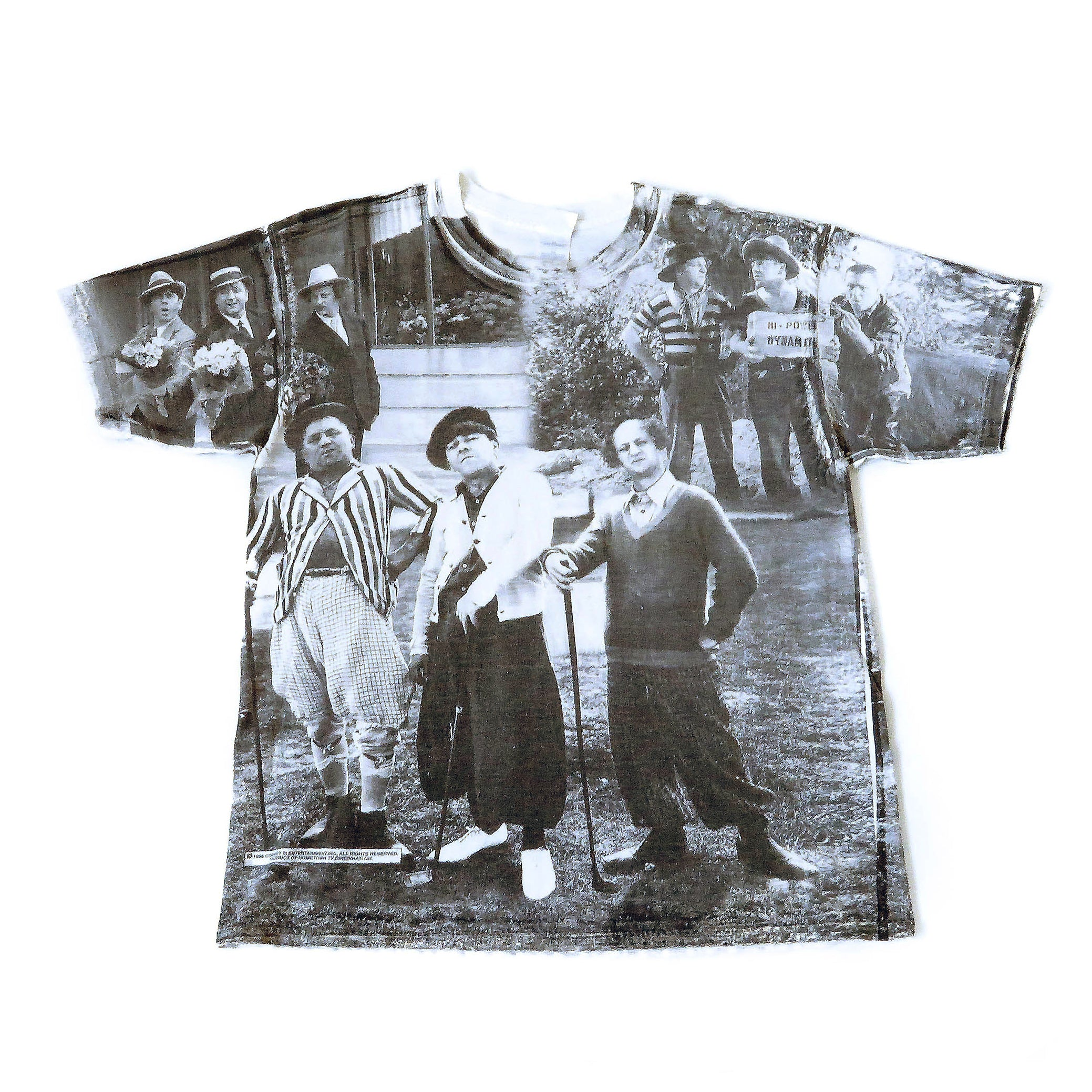 Vintage 1998 Three Stooges T-Shirt Sz XL