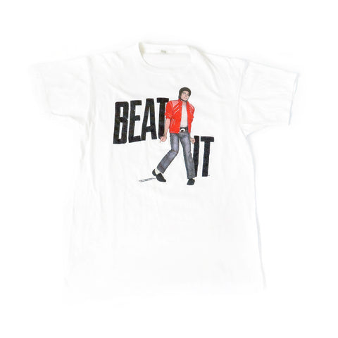 Vintage 1984 Michael Jackson Beat It T-Shirt Sz XL