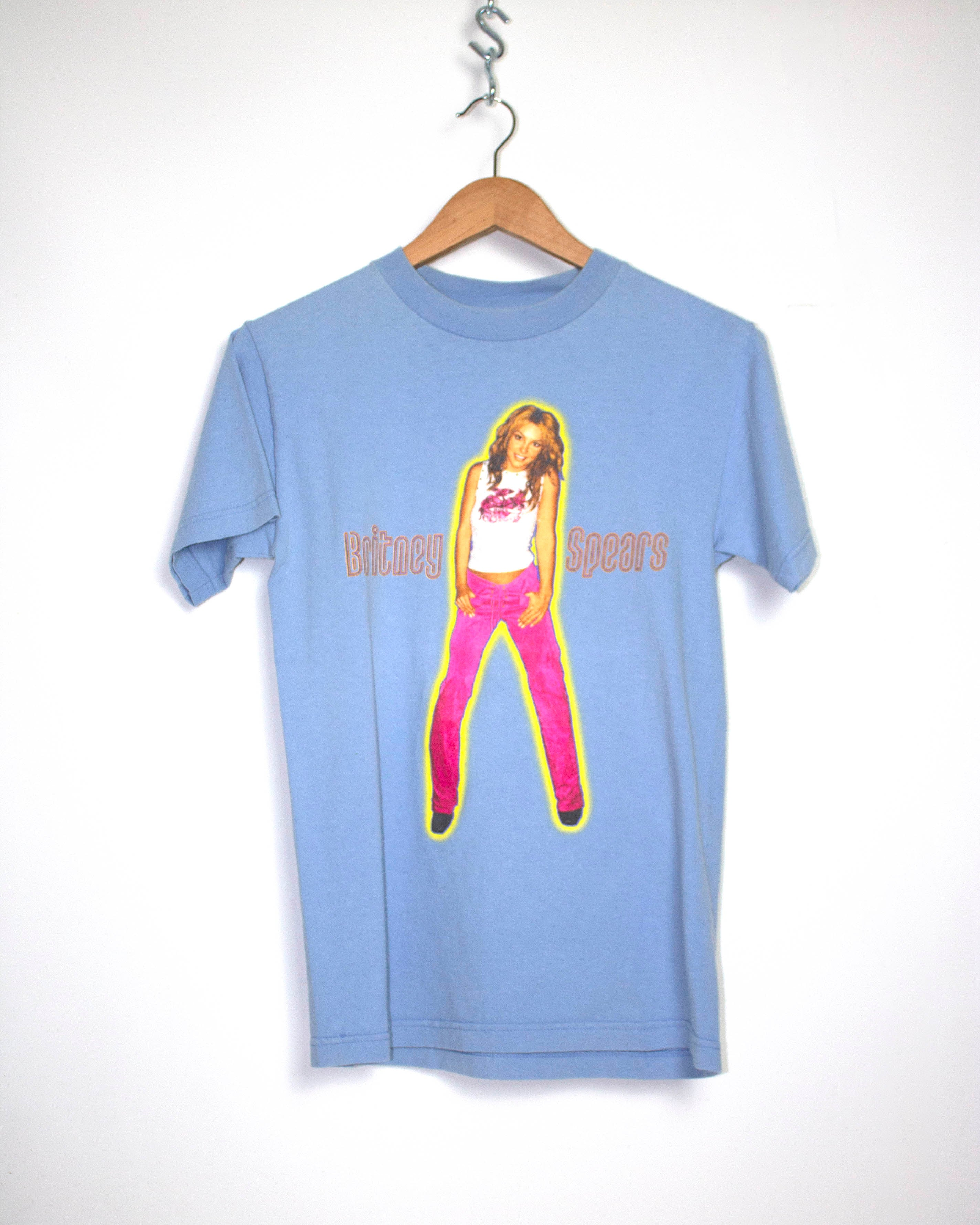 Vintage Britney Spears Oops I Did It Again Tour T-Shirt Sz S