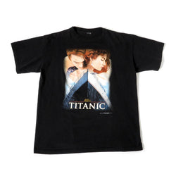 Vintage 1998 Titanic Movie T-Shirt Sz L