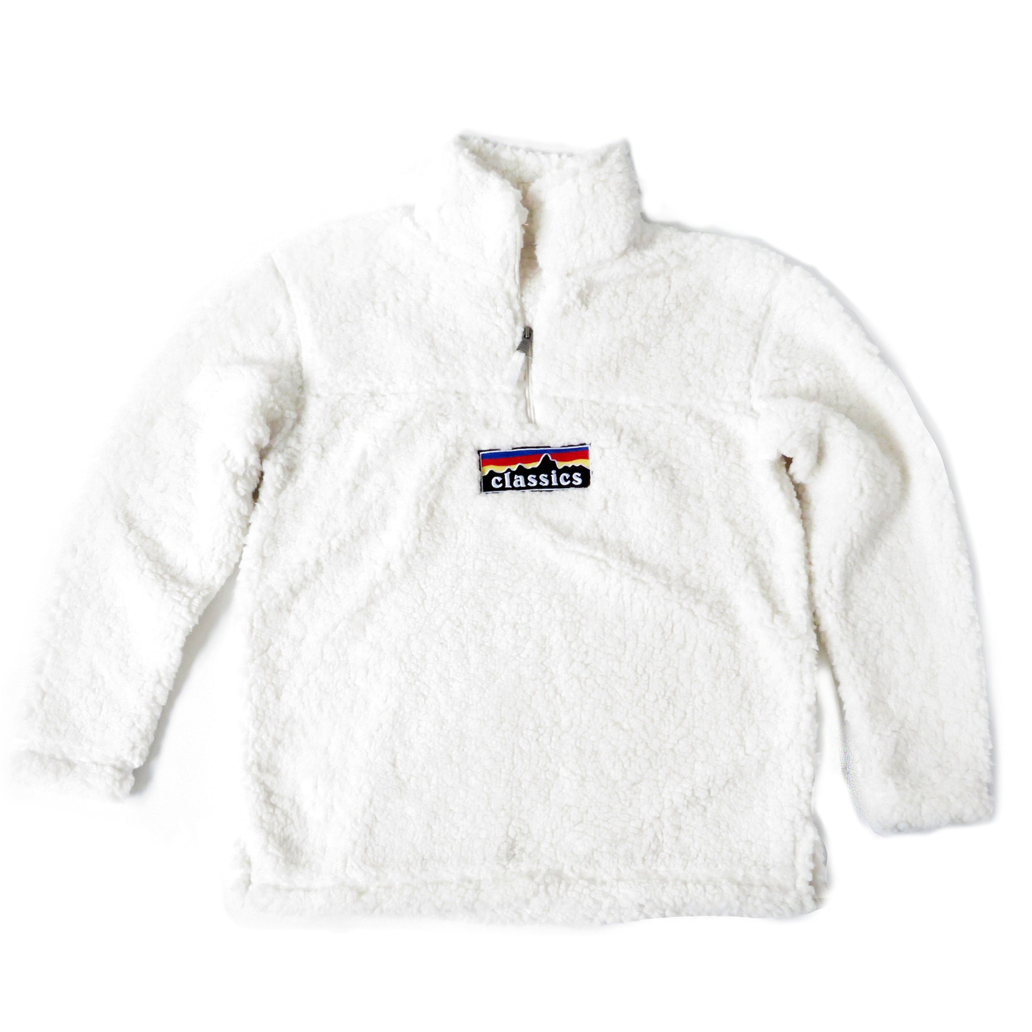 "SGMC ""Mountains"" Sherpa Pullover Fleece"