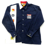 Tommy Hilfiger Sailing Gear Button Down Shirt Sz L