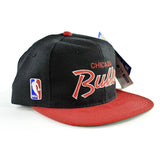Chicago Bulls Script Sports Specialties Snapback Hat