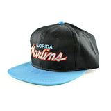 Florida Marlins Script Sports Specialties Snapback Hat