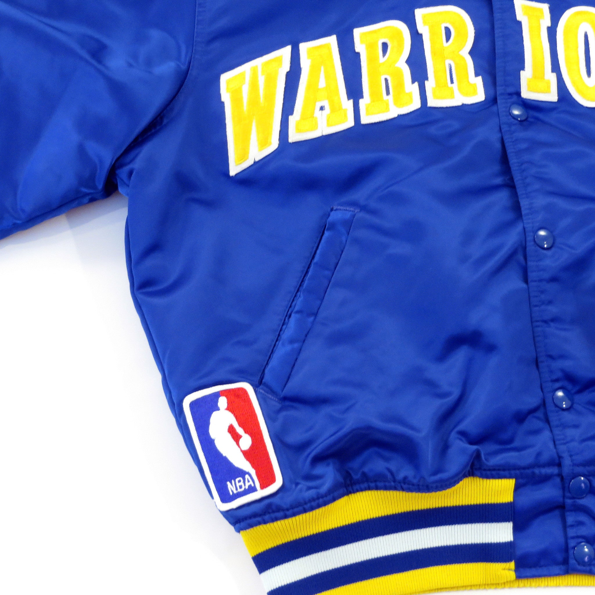 Vintage Starter Golden State Warriors Jacket Sz XL