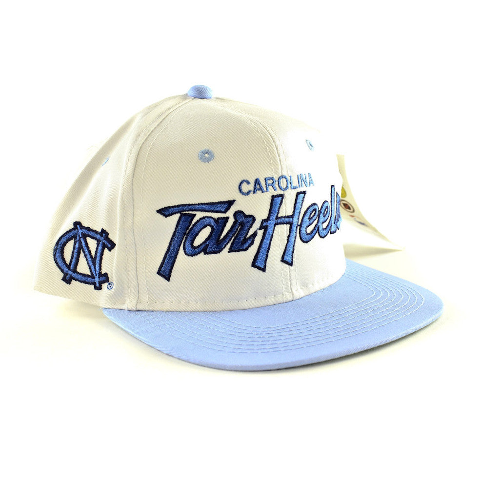 North Carolina Tar Heels Script Sports Specialties Snapback Hat