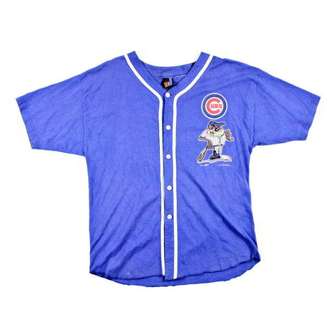 Chicago Cubs Taz Baseball Jersey Sz M