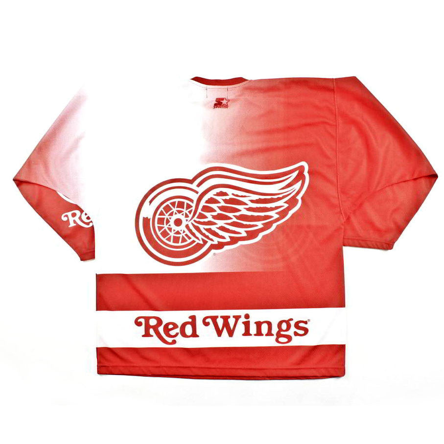 Vintage Detroit Red Wings Starter Hockey Jersey Sz XL