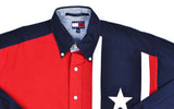 Tommy Hilfiger Stars Button Down Shirt Sz XL