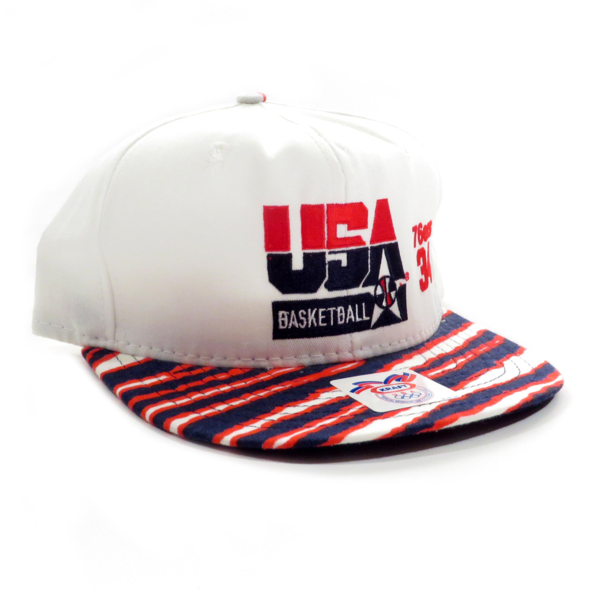 USA Basketball Barkley 34 Sixers Zubaz Snapback Hat