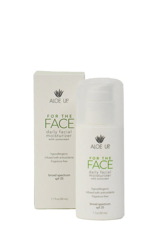 For The Face SPF 25 Daily Facial Moisturizer