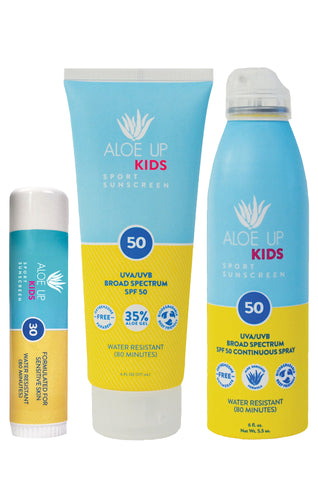Essential Lil' Kids Pack SPF50