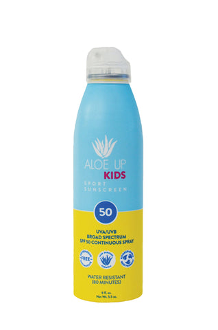 Aloe Up Kids SPF 50  Sunscreen Spray - 177ml
